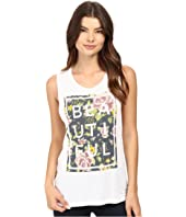 Life is Beautiful - Beautiful Box Floral - Muscle Tank