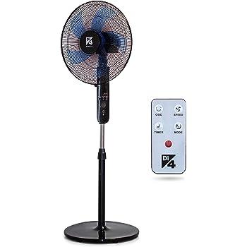 Di4 Aria Silence Control 40- Ventilador de Pie, 40cm Diámetro ...
