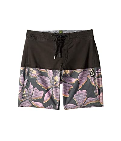 Volcom Kids Vibes Boardshorts (Big Kids) (Napoleon Pink) Boy