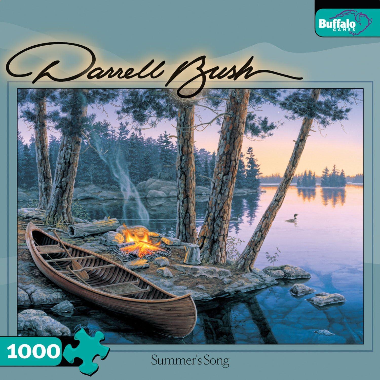 Buffalo Games Darrell Bush  Summer's Song   Canoe