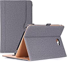 """ProCase Galaxy Tab A 10.1 Case 2016 Old Model, Stand Folio Case Cover for Galaxy Tab A 10.1"""" Tablet SM-T580 T585 T587 (NO S Pen Version) with Multiple Viewing Angles, Card Pocket -Grey"""