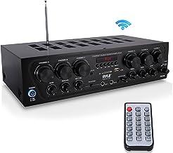 Bluetooth Home Audio Amplifier System – Upgraded 2018 6 Channel 750 Watt Wireless..