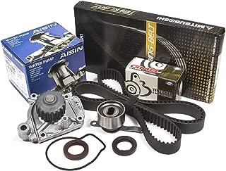 Evergreen TBK224MWPA Fits Honda Civic 1.6 D16Z6 VTEC Timing Belt Kit AISIN Water Pump