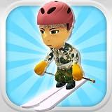 滑降雪スキーヤー:3D山スキーゲーム - 無料版
