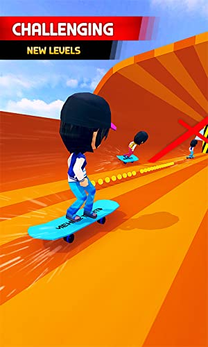 『Skater Race! Turbo Rush - Skateboard Stars Racing Game』の4枚目の画像