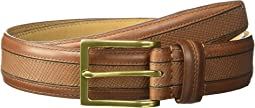 Cole Haan - 35mm Textured Center Strap Belt