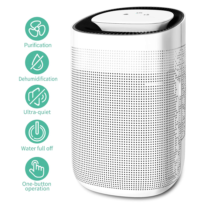 Honati Dehumidifier Purifier Ultra quiet Portable