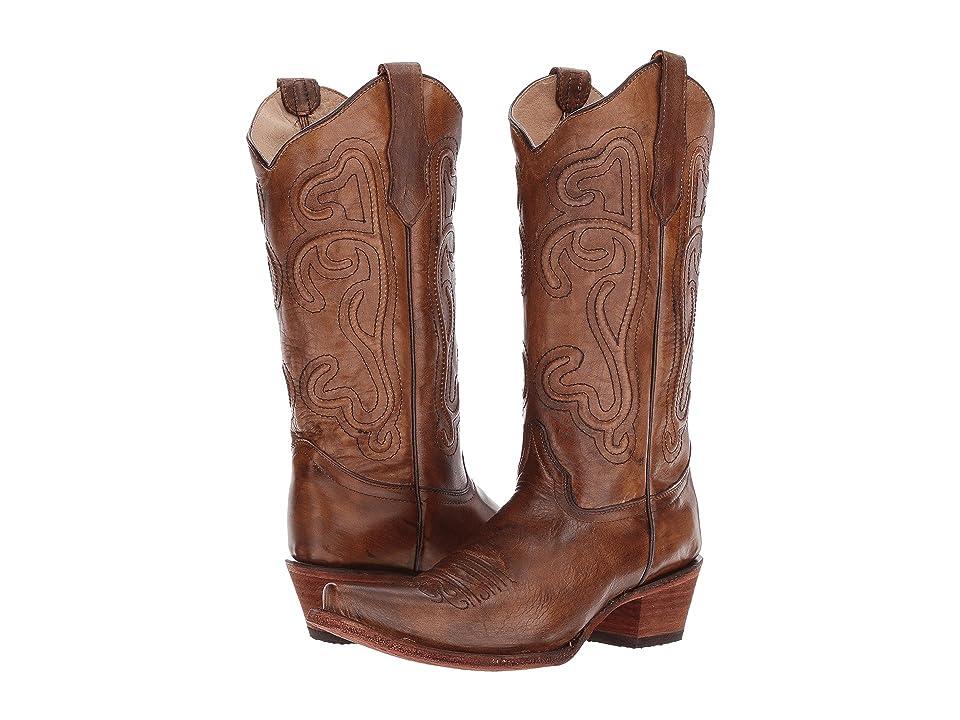 Corral Boots L5305 (Turquoise/Beige) Cowboy Boots