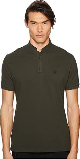 The Kooples - Officer Collar Polo Shirt with Contrasting Trim