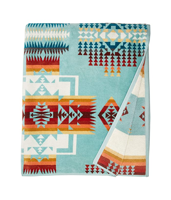Towel For Two Chief Joseph Aqua