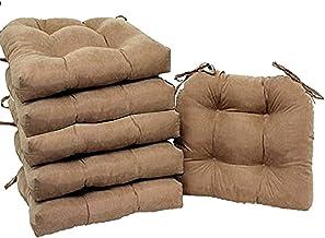 Amazon Com Burlap Cushions For Chairs
