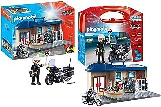 Playmobil City Action Playset Bundle with Take Along...