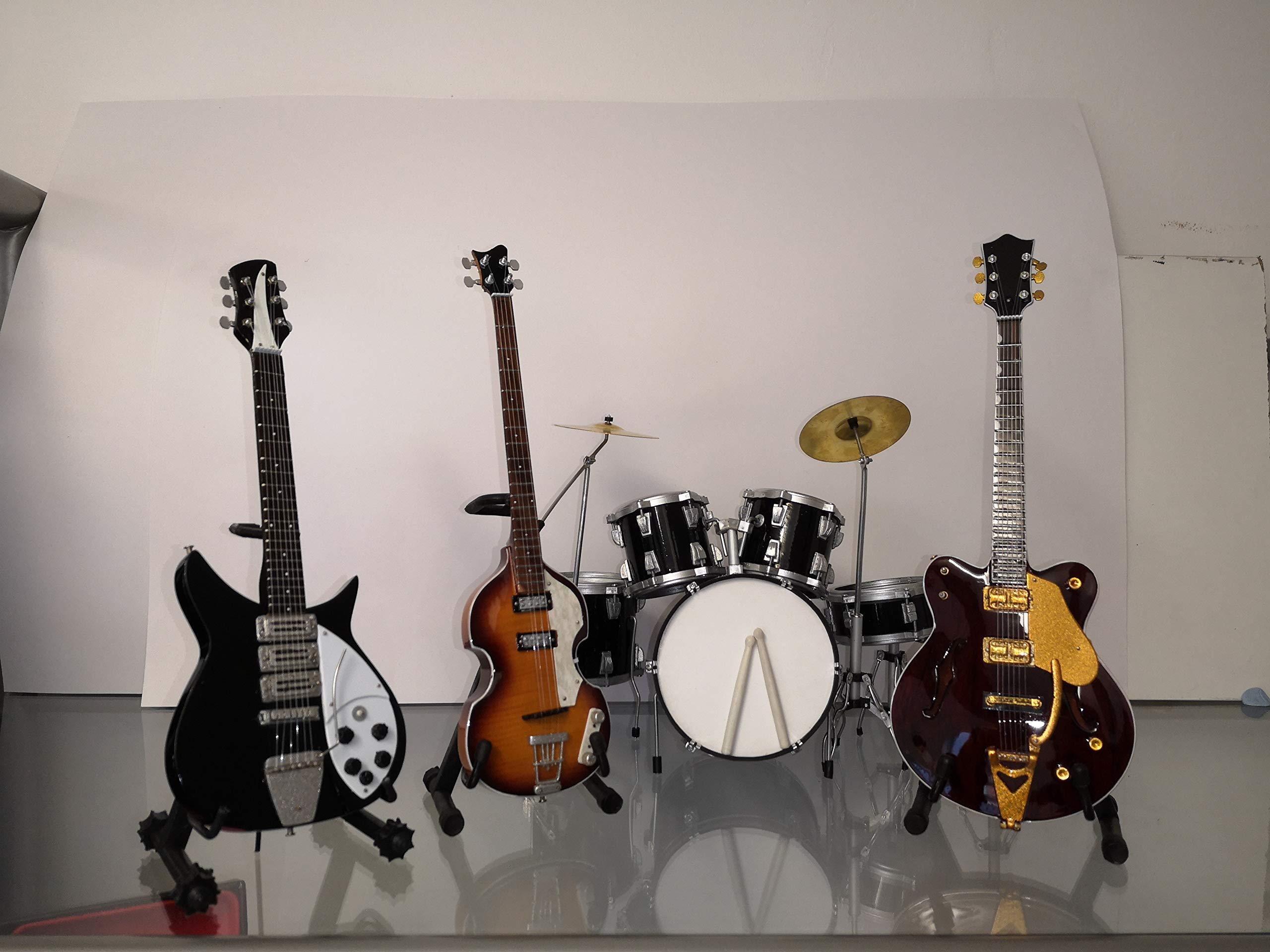 Miniatura Guitarra Replica Set: The Beatles: Amazon.es ...