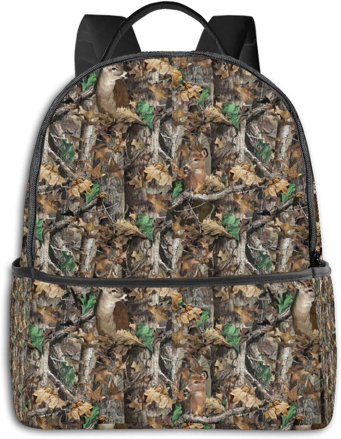 Max 78% OFF Real Tree Camo Limited time for free shipping Deer High School Backpack Boys Outdoor Cycling Gi