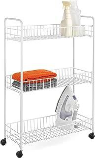 Honey-Can-Do Crt-01149 3-Tier Laundry Cart, 23