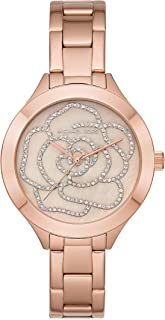 Michael Kors Women's Slim Runway Rose Gold Tone Stainless Steel Watch MK3992