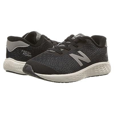 New Balance Kids KVARNv1I (Infant/Toddler) (Black/Magnet) Boys Shoes