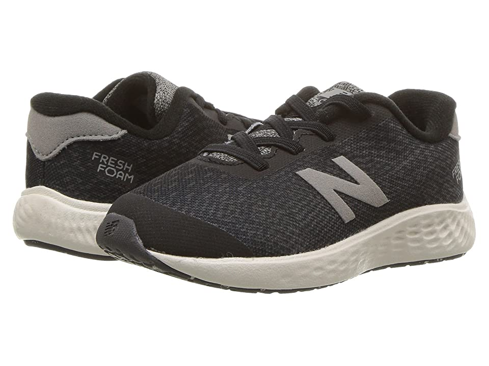 New Balance Kids KVARNv1I (Infant/Toddler) (Black/Magnet) Boys Shoes