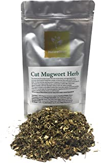 Cut Mugwort Herb - Ingredients: 100% Artemisia Vulgaris - Riverside Wormwood, Felon Herb, Chrysanthemum Weed, Sailor's Tob...