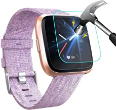 NANW [4-Pack] Screen Protector Compatible with Fitbit Versa/Versa Lite Edition Smartwatch..