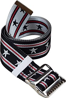 Gait Belt by LiftAid - Stylish Patient Walking and Transfer Belt with Metal Buckle - Assits Nurses, Caregivers, Occupational and Physical Therapy - Washable - 60