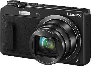 Panasonic Lumix DMC-TZ58 Cámara compacta 16 MP 1/2.33 Mos 4608 x 3456 Pixeles Negro - Cámara Digital (16 MP 4608 x 3456 Pixeles Mos 20x Full HD Negro)
