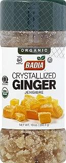 Badia Organic Crystallized Ginger, 10 Ounce