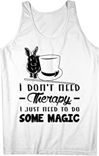I Don't Need Therapy I Just Need To Do Some Magic Magician 男性用 Tank Top Sleeveless Shirt