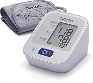 OMRON M2 - Tensiómetro de brazo, detección del pulso arrítmico, tecnología Intellisense para dar