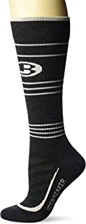 Icebreaker Merino Women's Running Ultralight Cushion Compression Over The Calf Socks, Merino Wool