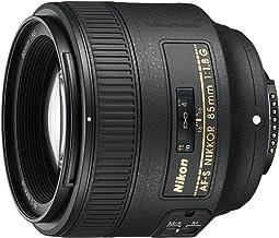 Nikon AF-S NIKKOR 85mm f/1.8G Obiettivo, Nero [Nital Card: 4 Anni di Garanzia]