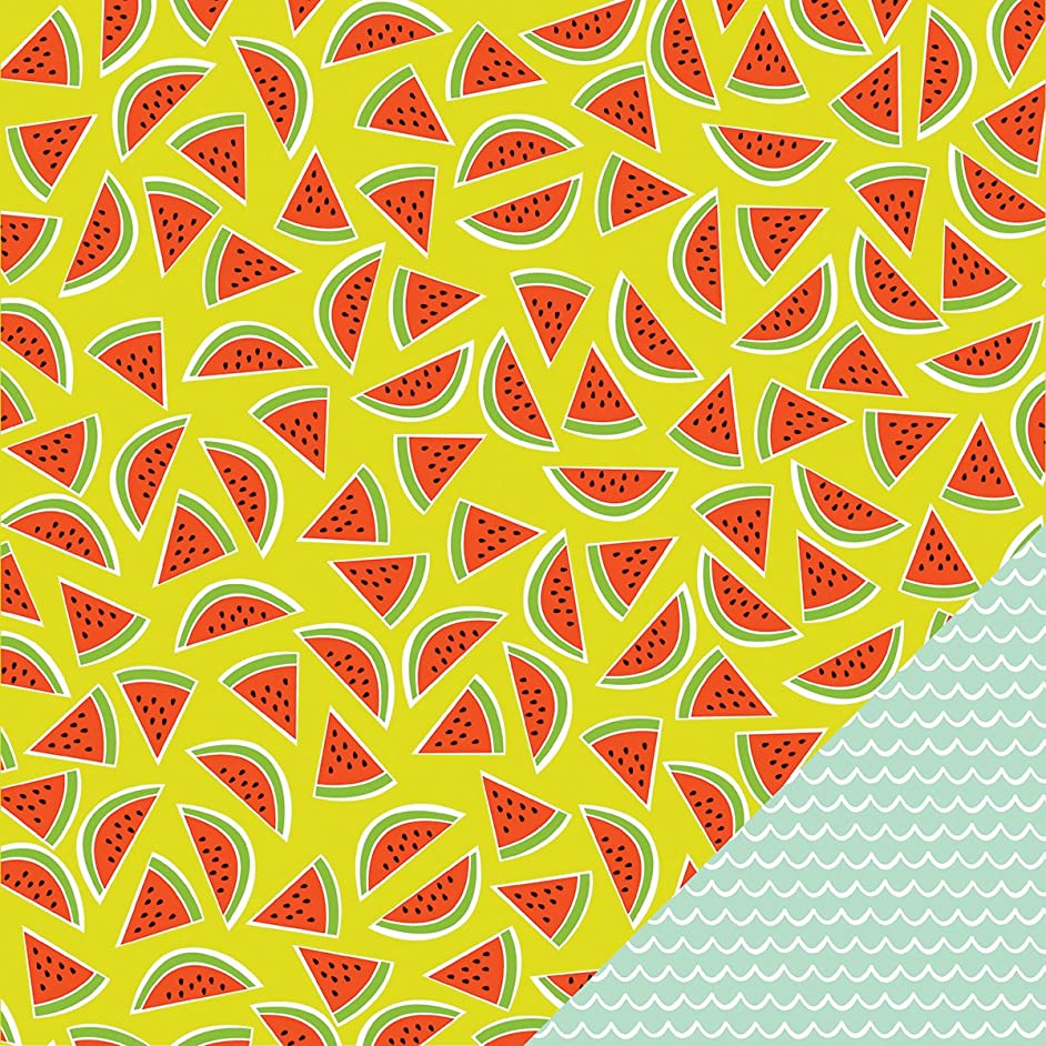 American Crafts Sunny Double-Sided Cardstock 12