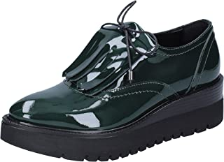 PHIL GATIER by REPO Slip on Donna Pelle Verniciata Verde