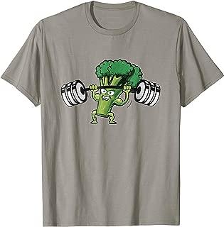 Funny Keto shirt | Powerlifting Broccoli for kids t-shirt