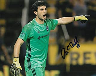 ANDREW TARBELL signed (SAN JOSE EARTHQUAKES) MLS SOCCER 8X10 photo W/COA #1 - Autographed Soccer Photos