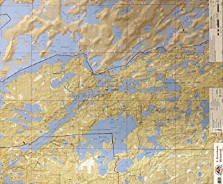 McKenzie BWCA/Quetico Canoe Map Number 9