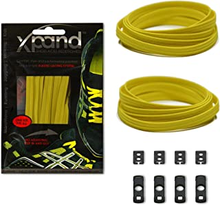 No Tie Shoelaces System with Elastic Laces - One Size Fits All Adult and Kids Shoes