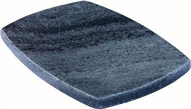 KLEO Soap Dish - Natural Black Stone | Soap Holder | Soap Tray | Soap Case | Luxury Bath Accessories