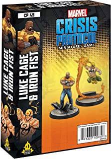 Marvel Crisis Protocol Luke Cage & Iron Fist Character Pack | Marvel Miniatures Strategy Game for Teens and Adults | Ages ...