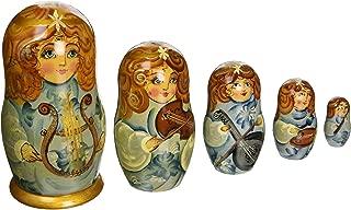 G. Debrekht 6 Inch Music Angels Nested Doll, 5-Piece