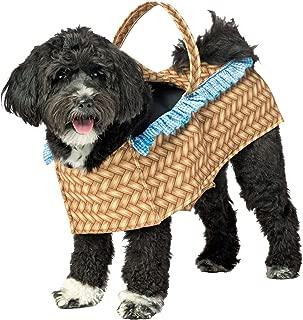 Rasta Imposta Doggie Basket Pet Costume-