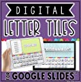 Digital Letter Tiles in Google Slides™