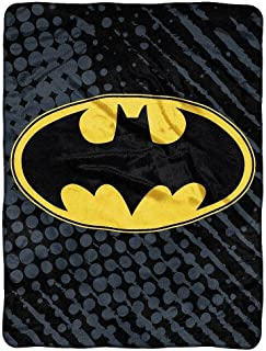 "Batman Super Plush Throw 46"" X 60"""