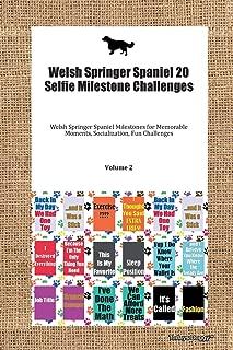 Welsh Springer Spaniel 20 Selfie Milestone Challenges Welsh Springer Spaniel Milestones for Memorable Moments, Socialization, Fun Challenges Volume 2