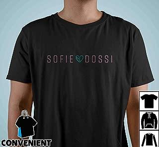 Sofie Dossi Original Logo T Shirt Long Sleeve Sweatshirt Hoodies