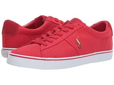 Polo Ralph Lauren Sayer (RL2000 Red Canvas) Men