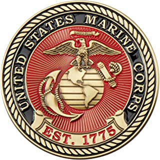 Marine Corps E5 Challenge Coin! USMC Sgt Rank Military Coin. Sergeant Challenge Coin! Designed by Marines For Marines - Officially Licensed Product!