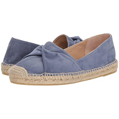L.K. Bennett Abigail (Powder Blue Suede/Satin) Women