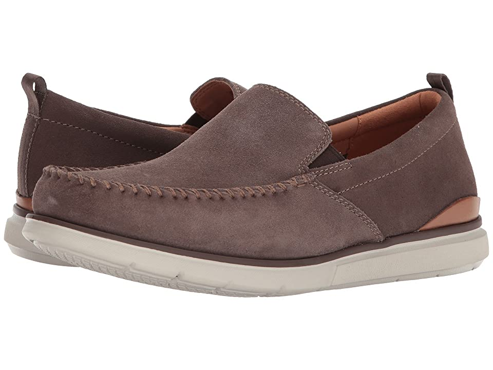 Clarks Edgewood Step (Taupe Suede) Men