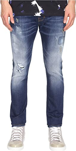 Anglomania Lee Don Karnage Jeans in Blue Denim
